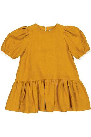 adidas Mädchen Kleider - Kleid Ode aus Leinen