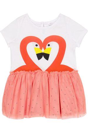 adidas Baby Kleid Flamingo aus Jersey und Tüll
