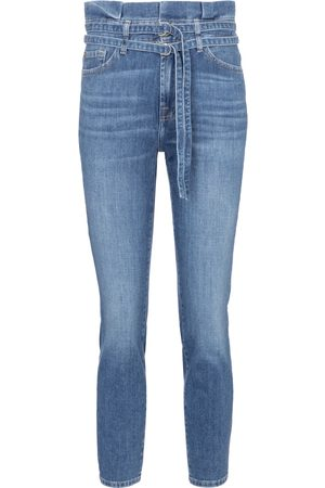 adidas High-Rise Skinny Jeans