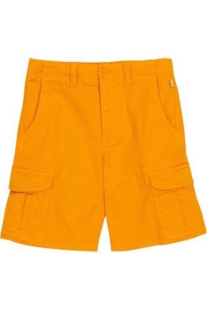 adidas Jungen Shorts - Shorts aus Stretch-Baumwolle