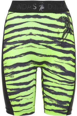 Dundas Damen Shorts - Radlerhose Aus Lycra Mit Druck