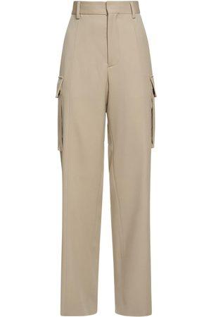 Stella McCartney Damen Weite Hosen - Weite Hose Aus Wolle