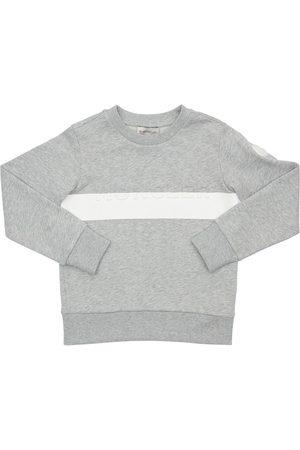 Moncler Sweatshirt Aus Baumwolle Mit Logo