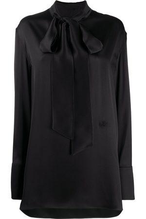 Jil Sander Mock-neck silk blouse