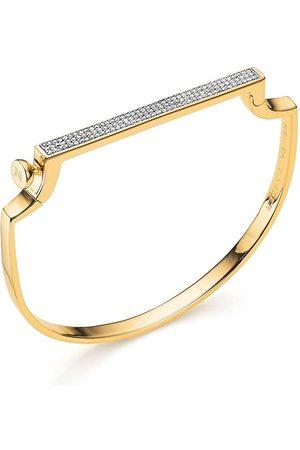 Monica Vinader Damen Armbänder - Signature Thin Diamond bangle