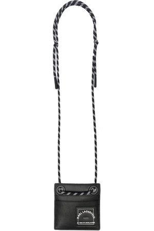 Karl Lagerfeld Herren Geldbörsen & Etuis - Logo-print neck-strap wallet