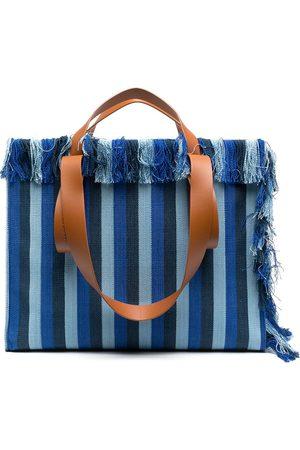 CamperLab Spandalones striped tote bag