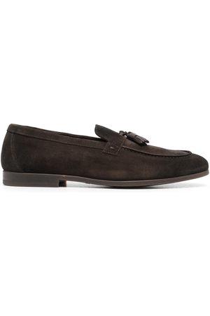 Doucal's Herren Halbschuhe - Tassel-detail suede loafers