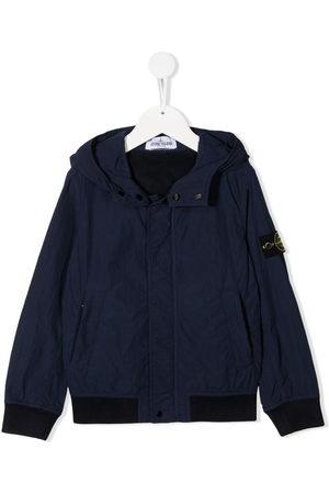 Stone Island Jungen Sommerjacken - Logo patch bomber jacket