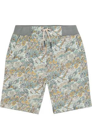 BONPOINT Bedruckte Shorts aus Baumwolle