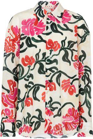 Marni Bedruckte Bluse aus Baumwolle
