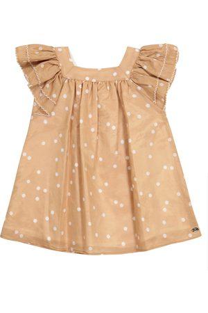 Tartine Et Chocolat Baby Kleid aus Baumwolle und Seide