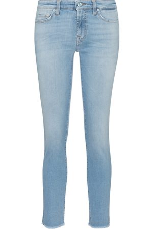 7 for all Mankind Mid-Rise Slim Cropped Jeans Pyper