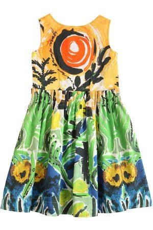 Marni Damen Bedruckte Kleider - Bedrucktes Kleid Aus Baumwollsatin