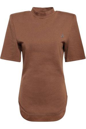 "The Attico T-shirt Aus Baumwolljersey ""tessa"""