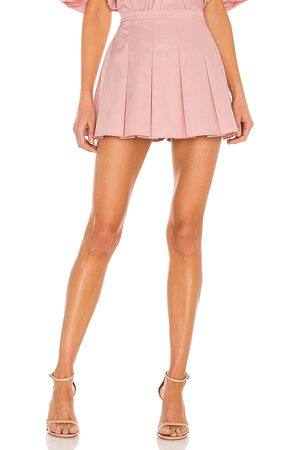 Amanda Uprichard Dixon Skort in - Pink. Size L (also in XS, S, M).