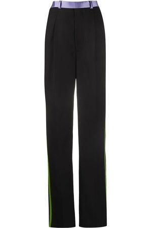 Haider Ackermann Bondi stripe detail trousers