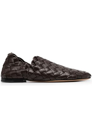 Bottega Veneta Flat Intrecciato loafers