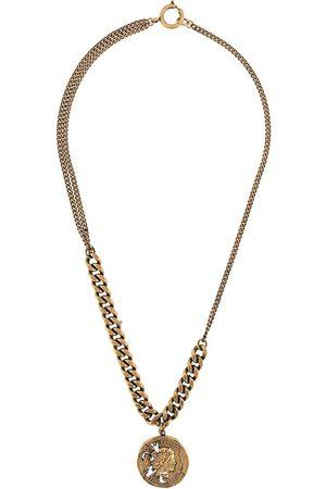Acne Studios Halsketten - Vintage coin pendant necklace