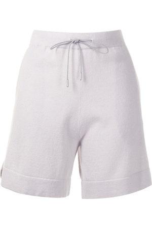 Fabiana Filippi Drawstring cashmere shorts