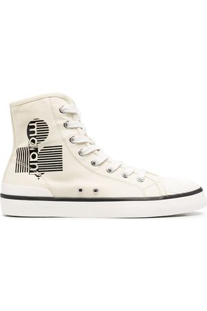 Isabel Marant Logo-print lace-up sneakers