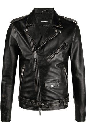 Dsquared2 Herren Lederjacken - X Ibrahimović Icon leather jacket