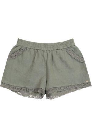 Tartine Et Chocolat Shorts aus Leinen
