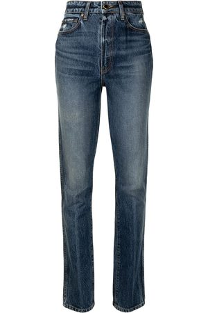 Khaite Damen Slim - Daria high-waist slim-fit jeans