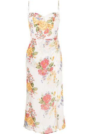 Reformation Damen Cocktail & Partykleider - Kourtney floral-print dress