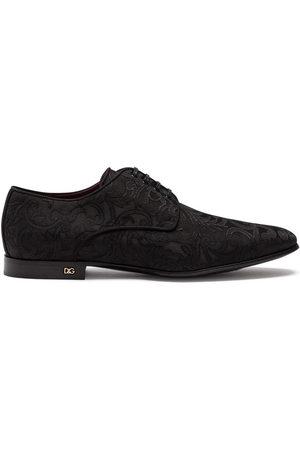 Dolce & Gabbana Ornamental-jacquard Derby shoes