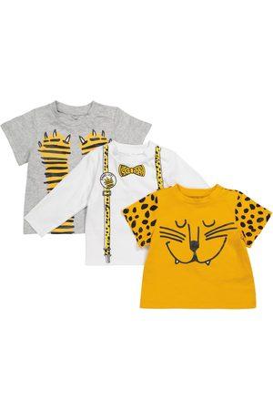 Stella McCartney Baby Set aus zwei T-Shirts und einem Longsleeve
