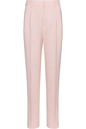 Stella McCartney High-Rise-Hose Julien aus Wolle