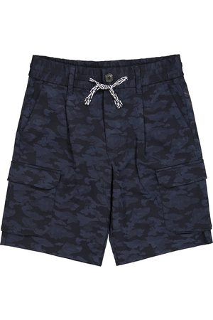 Emporio Armani Bedruckte Shorts aus Jersey