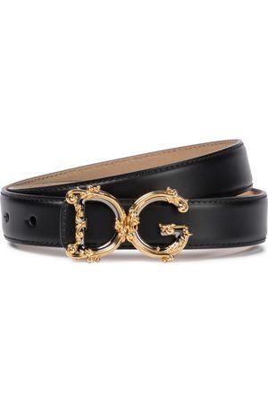 Dolce & Gabbana Gürtel DG aus Leder