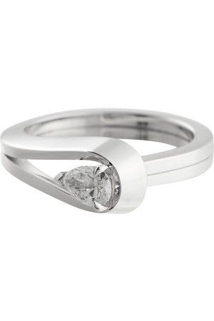 Repossi Ring Serti Inversé aus 18kt Weißgold mit Diamant