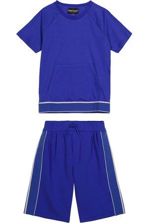 Emporio Armani Set aus T-Shirt und Shorts