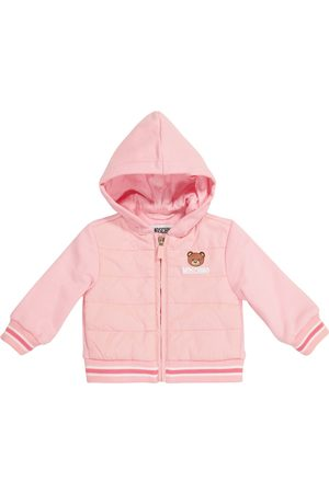 Moschino Kids Baby Jacke aus Baumwolle