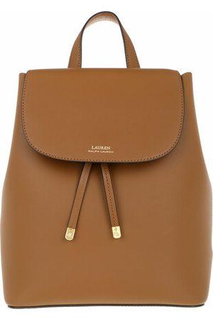 LAUREN RALPH LAUREN Crossbody Bags Flap Backpck Backpack Medium - in cognac - Umhängetasche für Damen