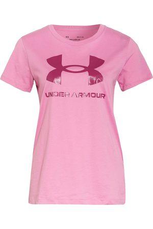 Under Armour Damen Shirts - T-Shirt Live Sportstyle pink