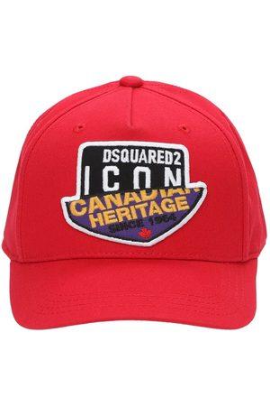 Dsquared2 Damen Hüte - Baseballkappe Aus Baumwollgabardine