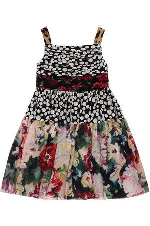 Dolce & Gabbana Partykleid Aus Seidengeorgette