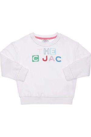 Marc Jacobs Damen Sweatshirts - Sweatshirt Aus Baumwolle Mit Logodruck