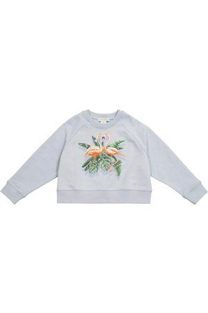 Stella McCartney Bedrucktes Sweatshirt aus Baumwolle