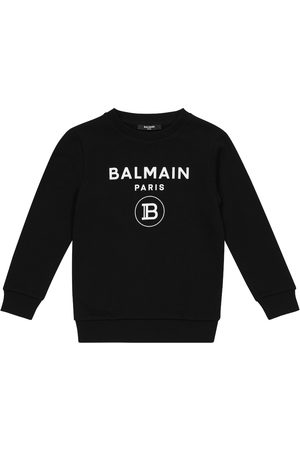 Balmain Bedrucktes Sweatshirt aus Baumwolle