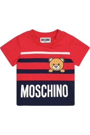 Moschino Baby T-Shirt aus Baumwolle