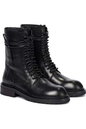 ANN DEMEULEMEESTER Damen Stiefeletten - Ankle Boots aus Leder