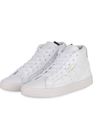 adidas Damen Sneakers - Sneaker Sleek weiss