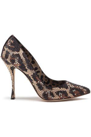 Dolce & Gabbana Lori leopard-print pumps