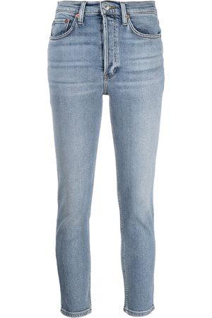 RE/DONE High-rise skinny-cut jeans