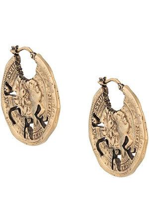 Acne Studios Vintage coin earrings